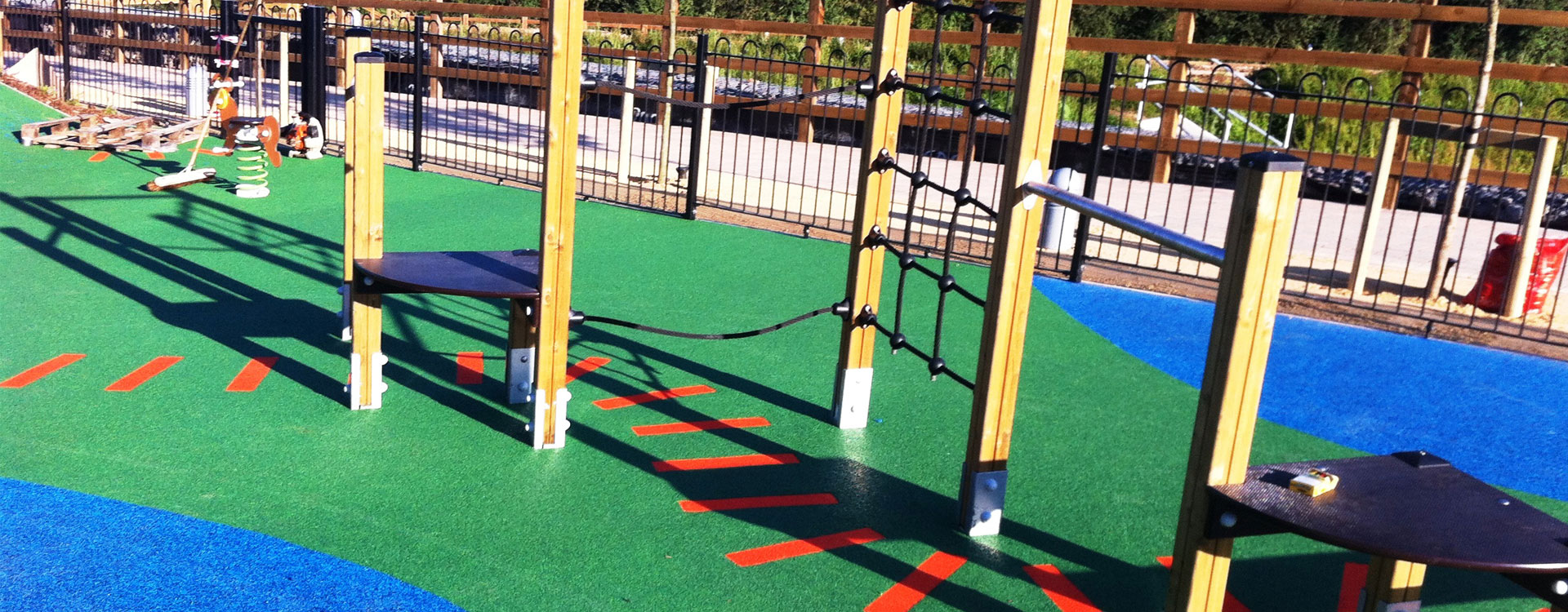 LAP, LEAP, NEAP Play Area - Soft Surfaces Ltd: The UK's