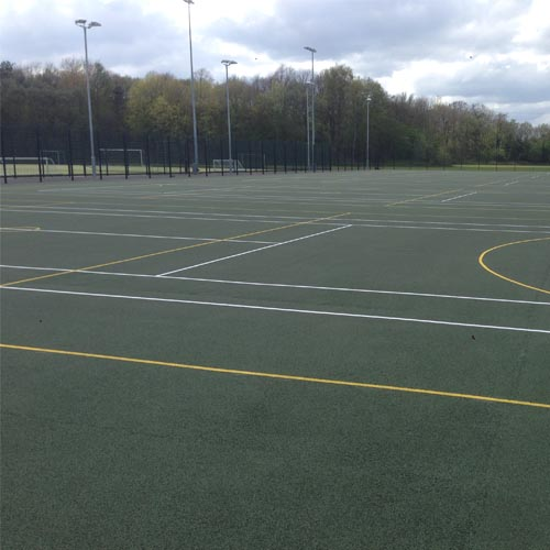 muga surface