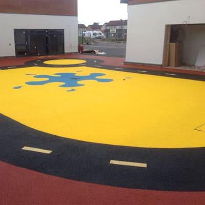 Nursery Play Area Surfaces