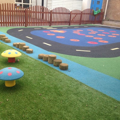 Nursery Wetpour Flooring
