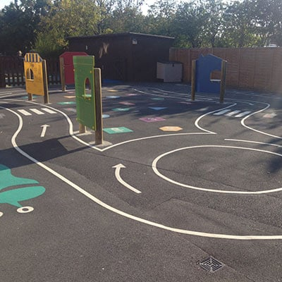 play area markings