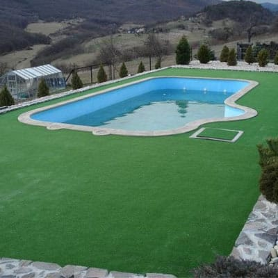 Leisure Grass with Pool