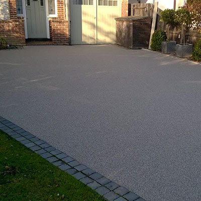 resin bonded surfacing