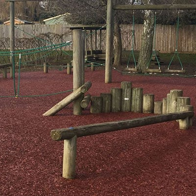 rubber mulch surfaces