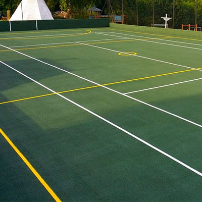 tennis court surface