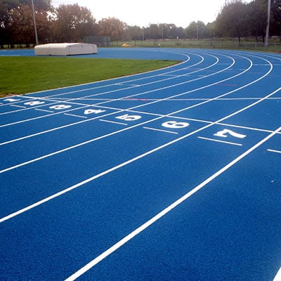 athletics track flooring