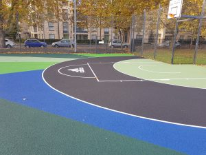 Polymeric Court Installation London