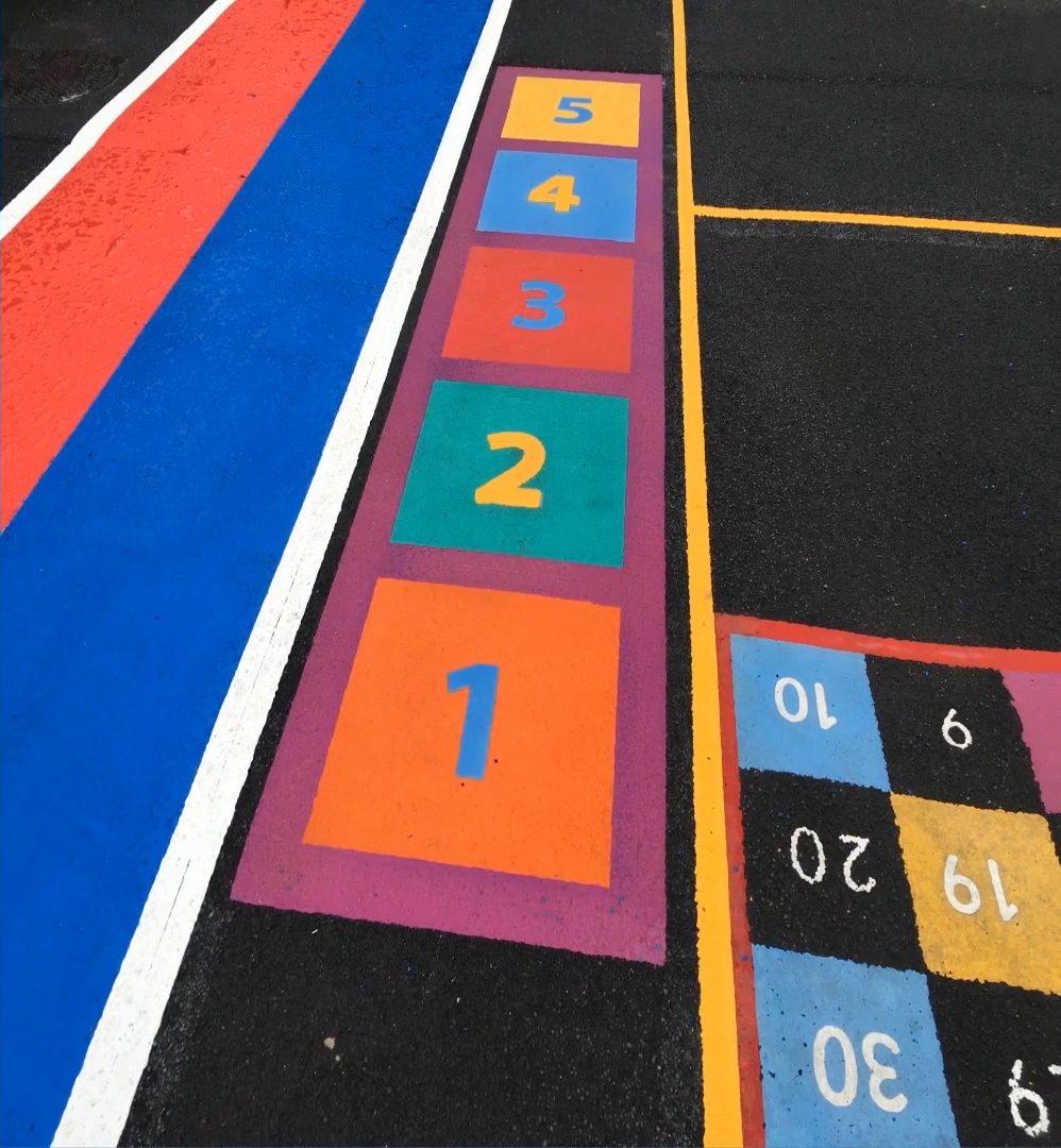 Playground Marking Installation Birmingham