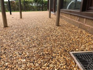 Resin Bound Gravel in Ludlow, Shropshire