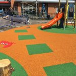 Rubber Crumb Wetpour Install Glasgow