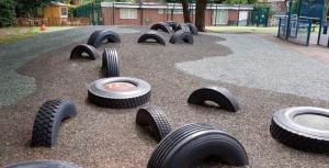 Rubber Mulch in Salford