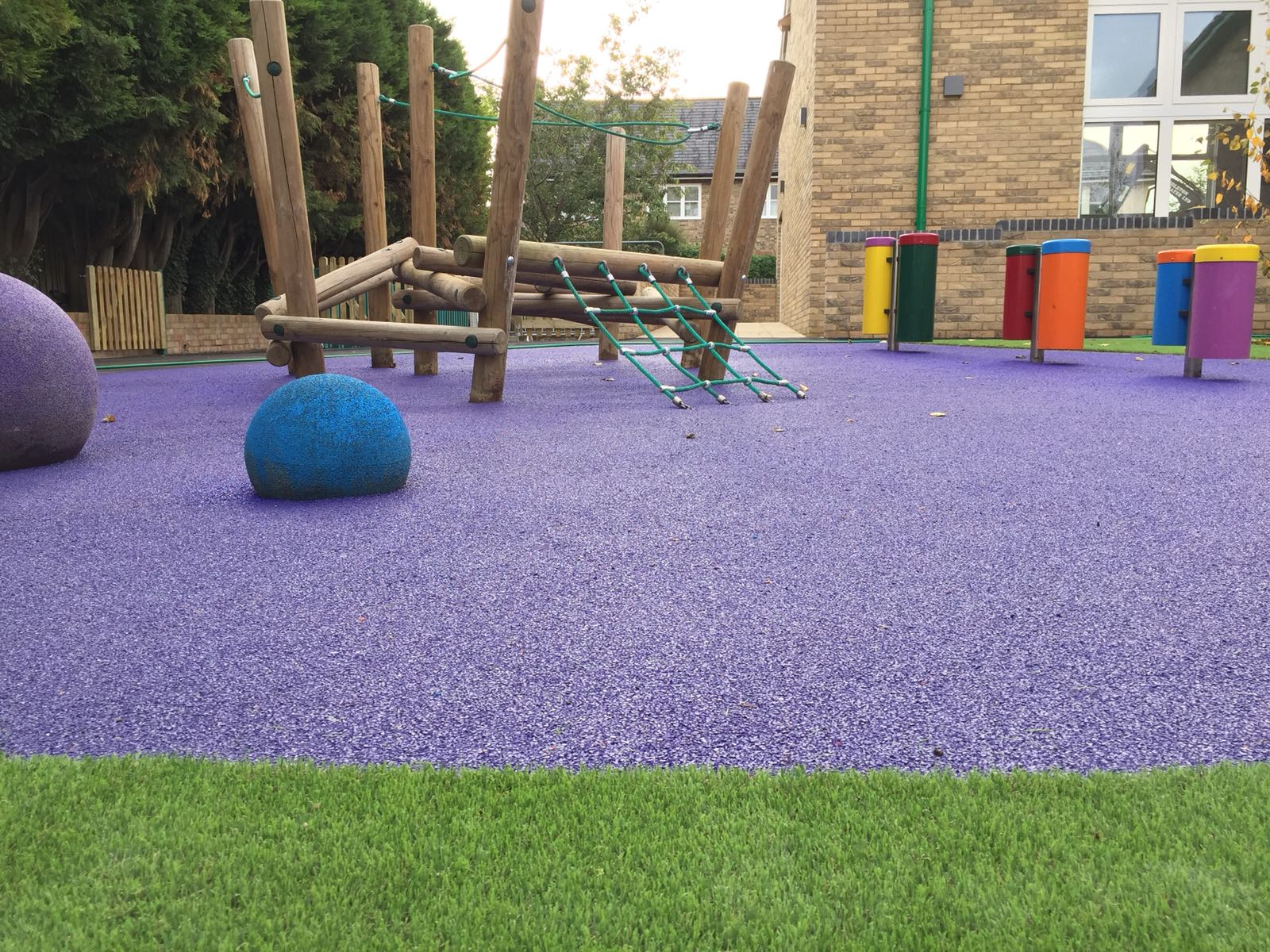 Wetpour & Artificial Grass in Fulbourn, Cambridge