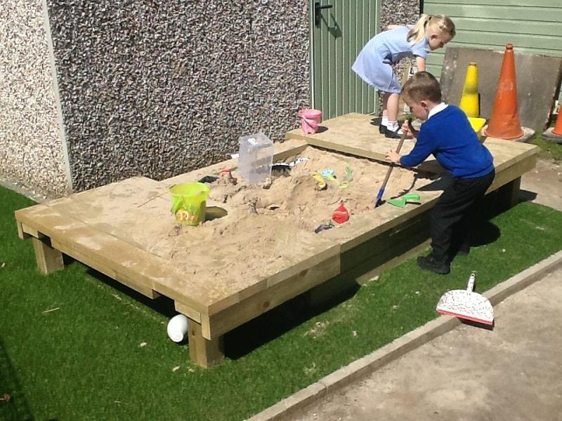 Sensory Playground Equipment Sand Box