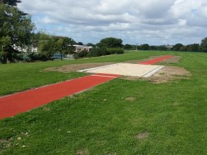 Polymeric Long Jump Pit Installation in Liverpool