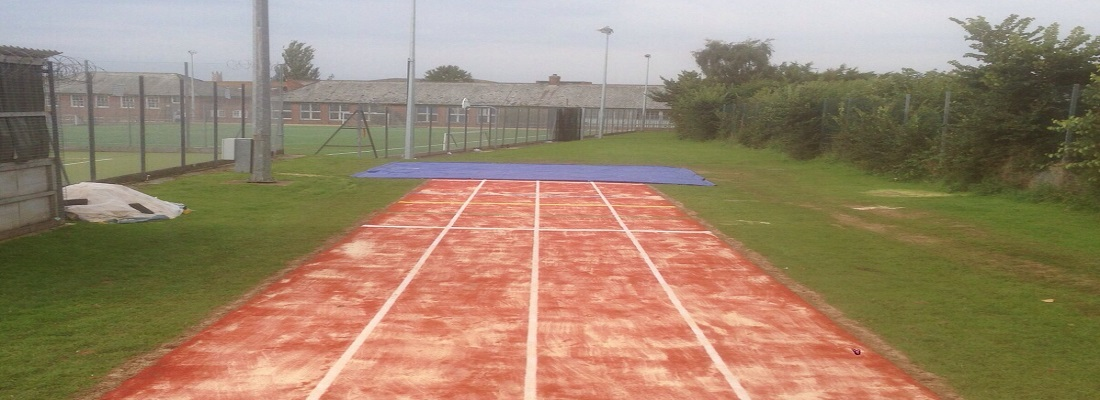 Long Jump Track in Colchester Essex