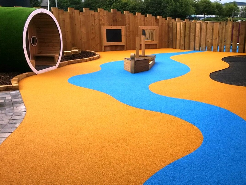 Wetpour Play Surface in Eastbourne