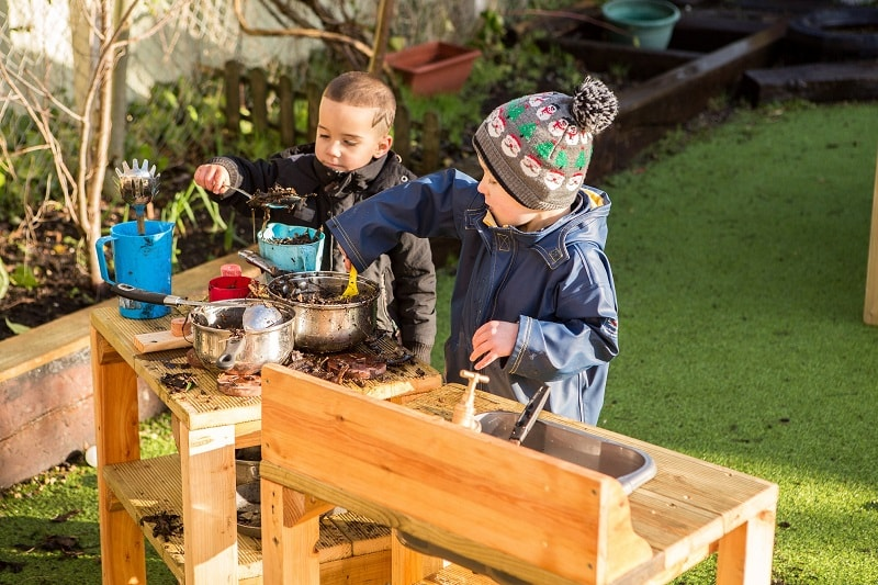 Benefits of Mud Kitchens for School Playgrounds