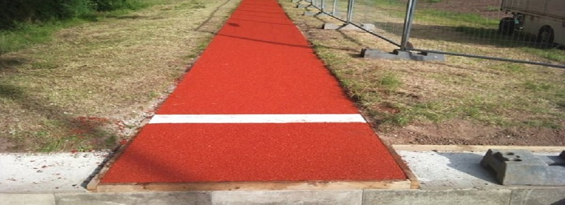 Long Jump Rubber Surface Kettering Northamptonshire
