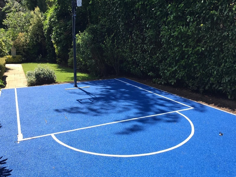 Polymeric Basketball Court Cheadle Cheshire