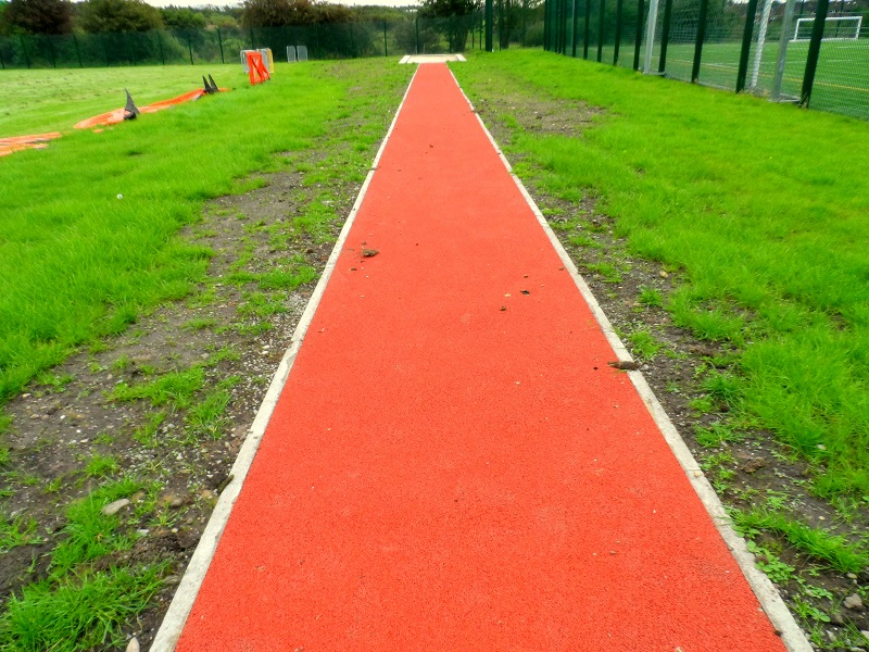 Polymeric Long Jump Pit in Glasgow