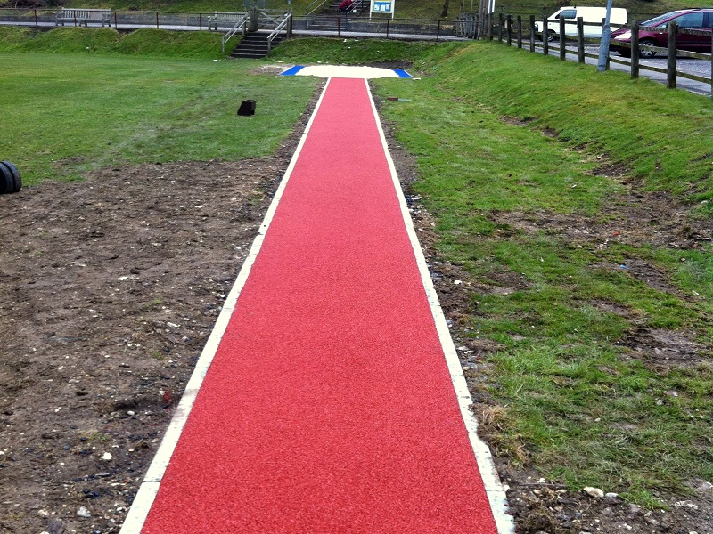 Polymeric Long Jump Pit in Leeds
