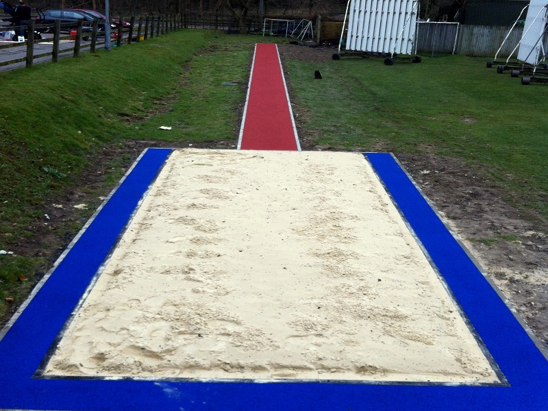 Polymeric Rubber Long Jump Leeds