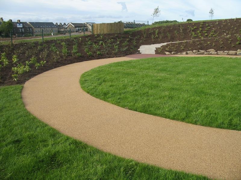 Resin Bound Gravel Installation Bradford Academy West Yorkshire