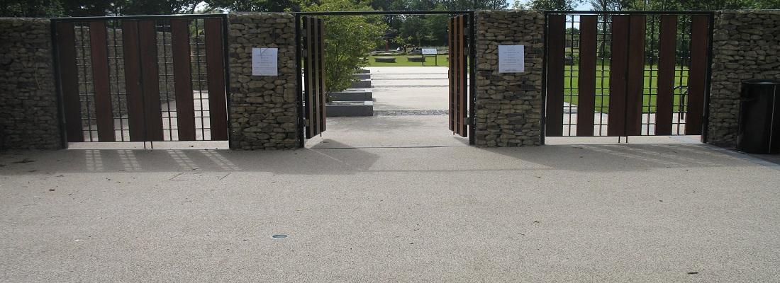 Resin Bound Gravel Installation Festival Gardens Liverpool