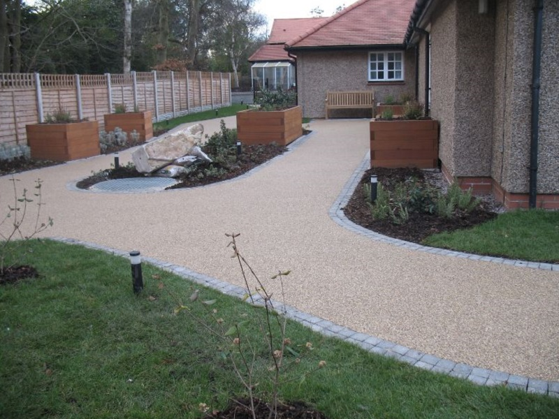 Resin Bound Gravel Pathway Stockport