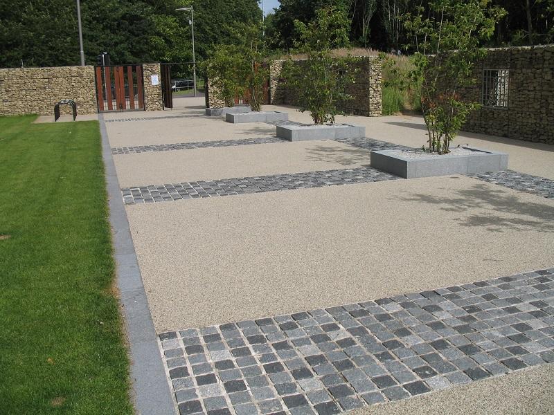 Resin Bound Stone Installation Festival Gardens Liverpool