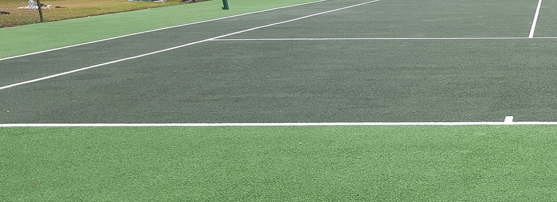 Tennis Court Clean and Paint Woking
