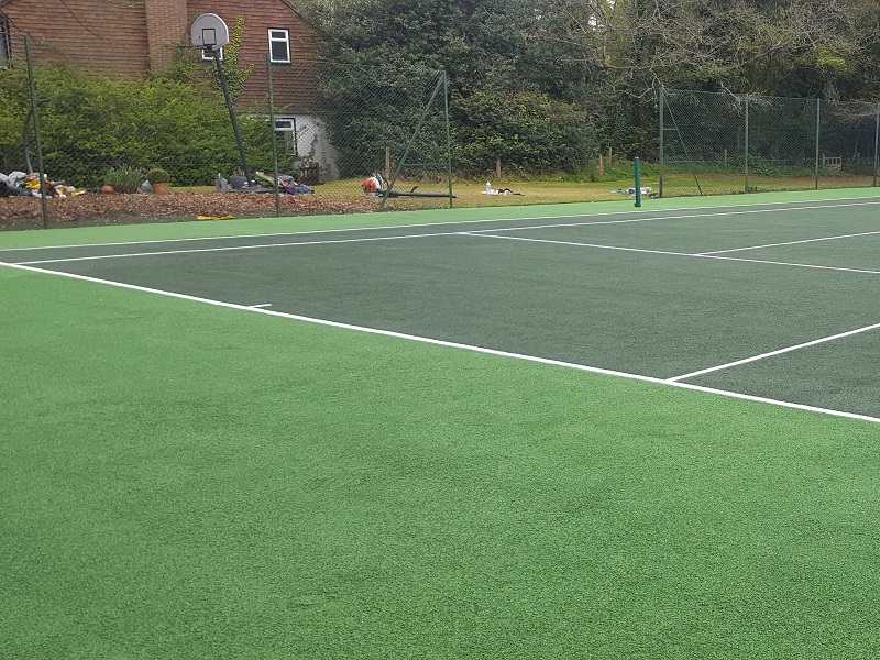 Tennis Court Maintenance Woking