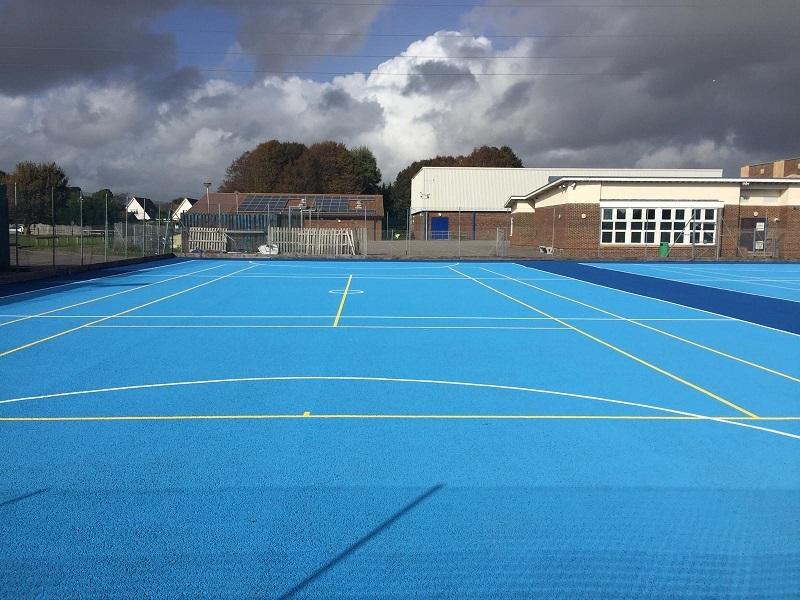 Anti Slip Court Paint in Preston