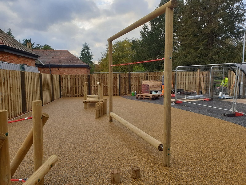 EPDM Wetpour Playground in Leeds West Yorkshire