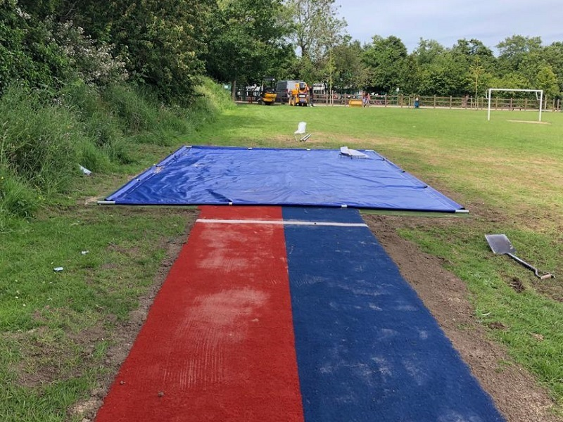 Long Jump Pit in Stockport Manchester