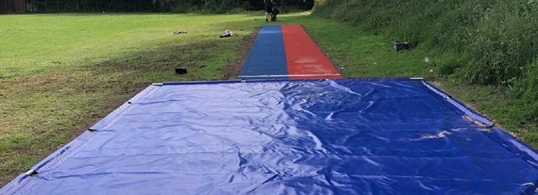 Long Jump Track Installation in Stockport