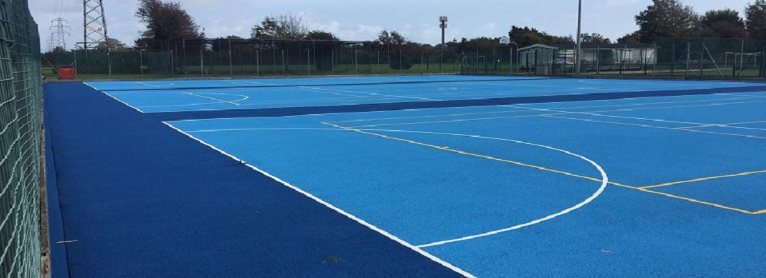 Sports Surface Clean and Paint in Preston