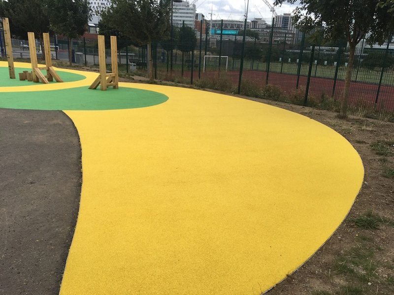 Wetpour Play Surfacing Wembley London