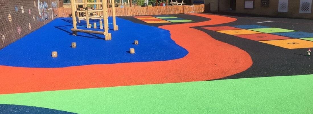 Wetpour Playground Design in Glasgow