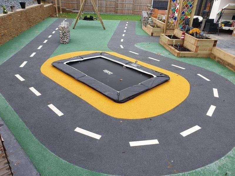 Wetpour Roadway Playground Design Huddersfield