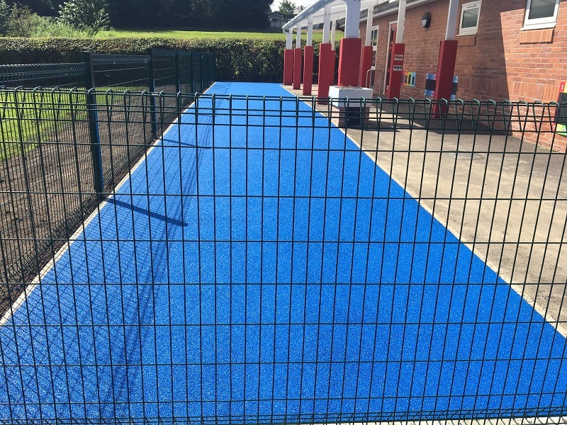 Wetpour Rubber Playground Surfacing in Derby