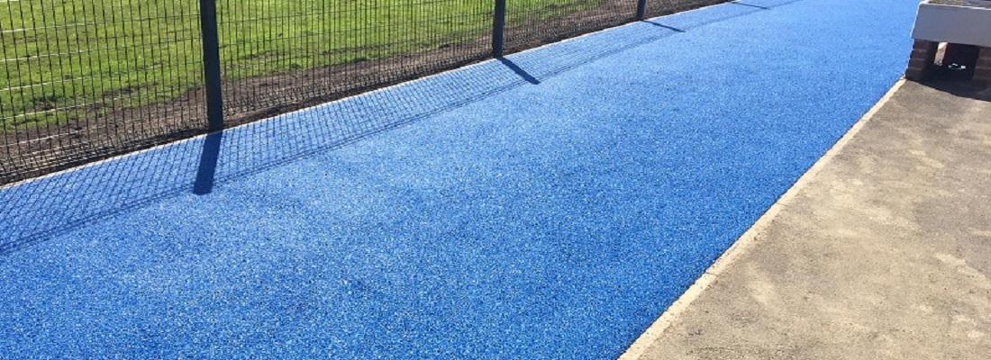 Wetpour Rubber Playground in Derby