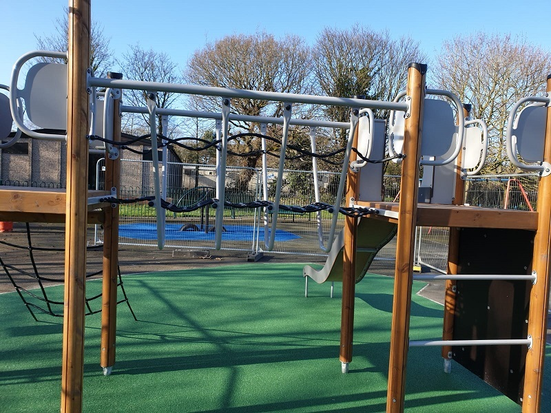 Wetpour Rubber Playground in Sheffield South Yorkshire