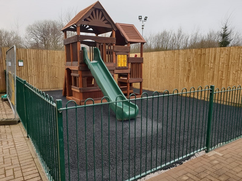 EPDM Rubber Playground in Newcastle