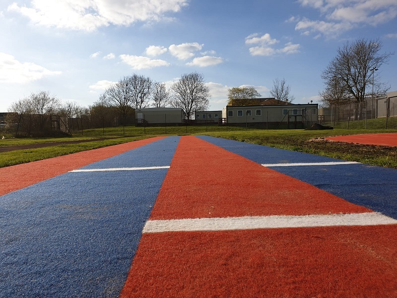 Long Jump Track Installation in Derby