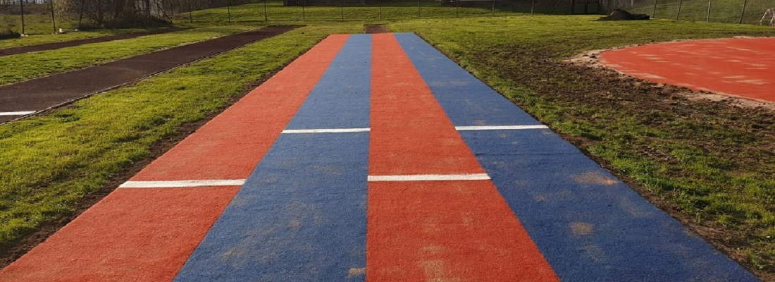 Long Jump and High Jump Tracks in Derby