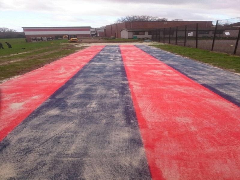 Multisport Long Jump Runway in Preston