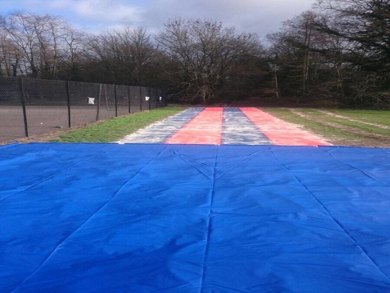 Multisport Long Jump Track in Preston Lancashire