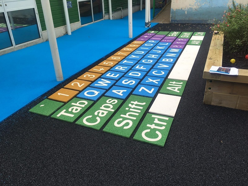 Playground Surface Graphics in Northampton