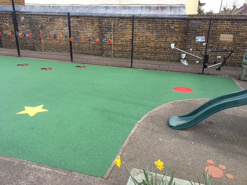 Spongy Playground Flooring in Woking